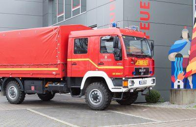 GW Dekon P: Gerätewagen Dekontamination Personen