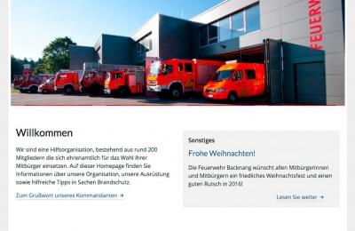 Homepage FF Backnang