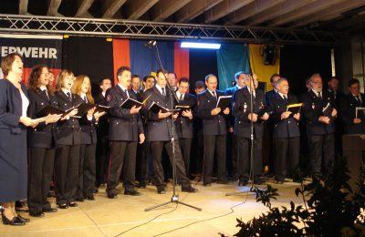 Abteilung Steinbach: Chor 150 Jahrfeier FF Backnang