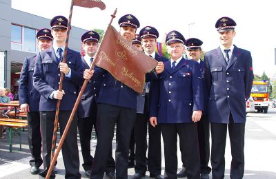 Abteilung Steinbach: Umzug 150 Jahrfeier FF Backnang