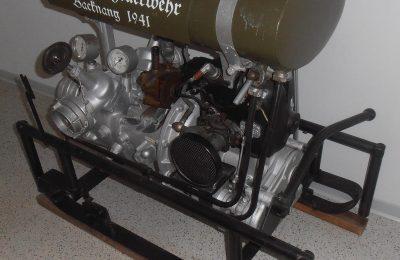 Abteilung Steinbach: Feuerwehrspritze Goliath III 1941