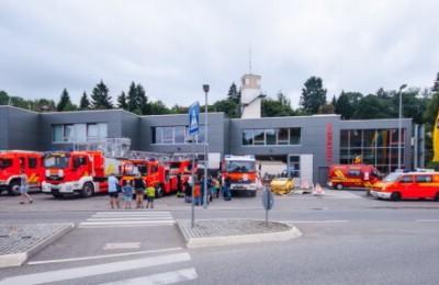 Feuerwehrhaus Stadt