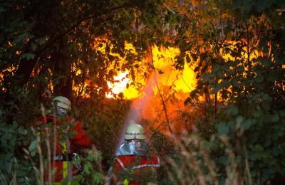 Einsatz 2015-065: Großbrand Veolia