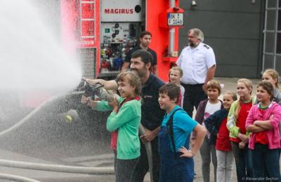 Besuch der Kinder aus der Region Tschernobyl